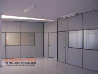 Divisorias para escritorio com vidro em Guarulhos (11) 2656-3151 - (11) 96661-6086